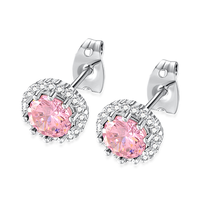 Tourmaline Rhinestone Earrings