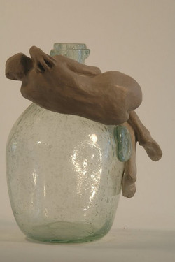 Clay on Glass