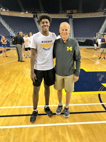 Coach John Beilin, University of Michigan