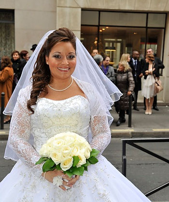 Coiffure de mariée  maquillage de mariée