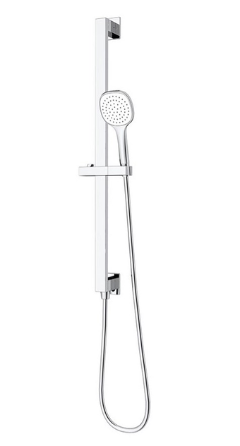 Mizu Bloc Chrome Slide Shower