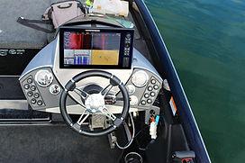 console de pilotage et sonde humminbird