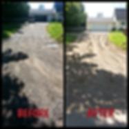 Graded Driveway