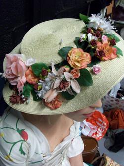 1700's straw Hat