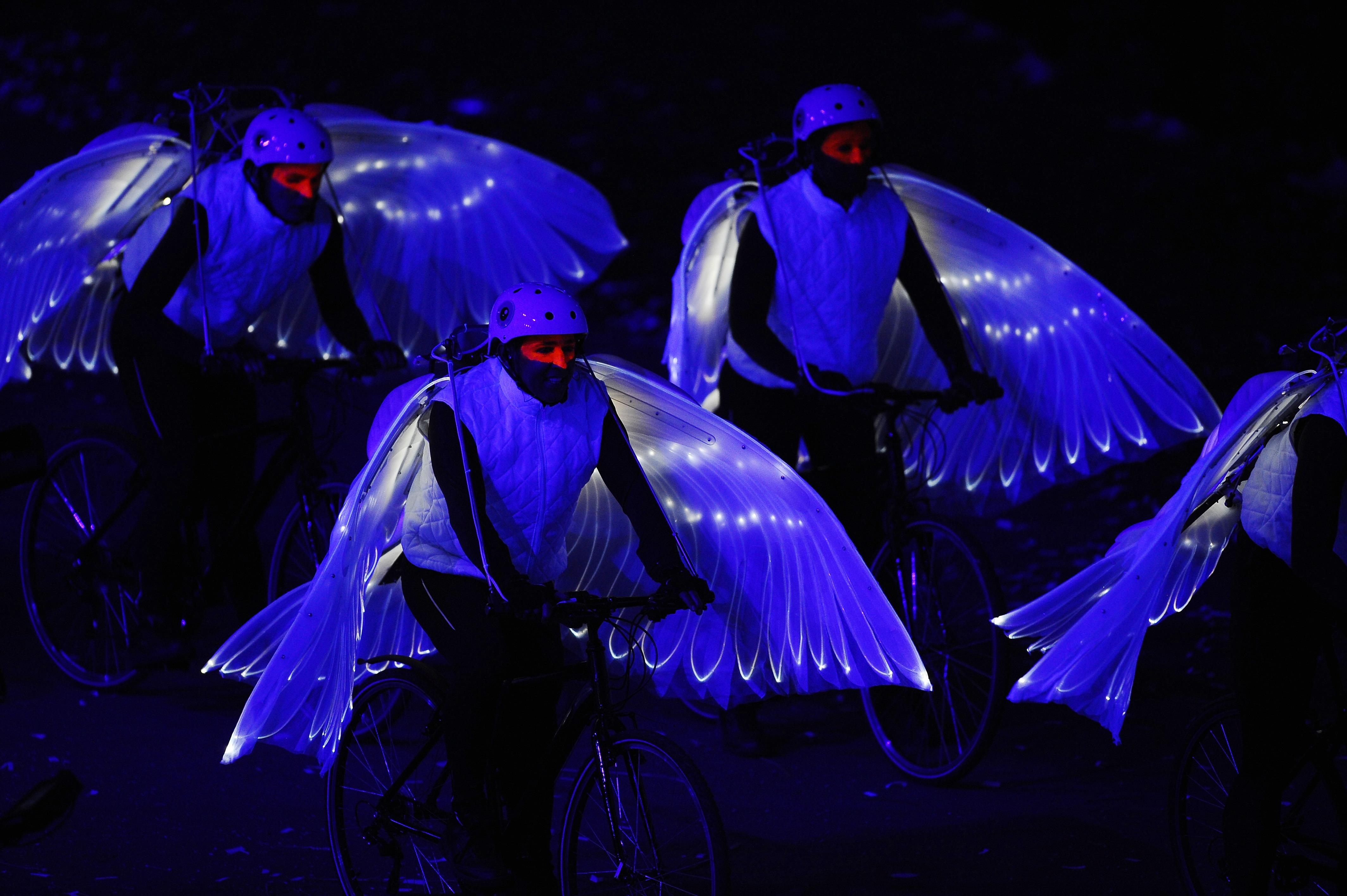 2012 Olympics Opening Ceremony- Doves