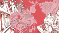 宋朝市景The scene of Song dynasty