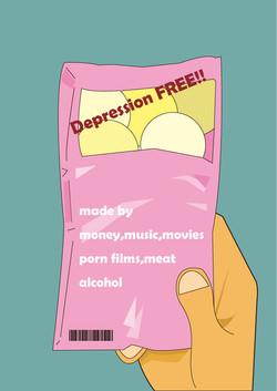 無沮喪成分depression free