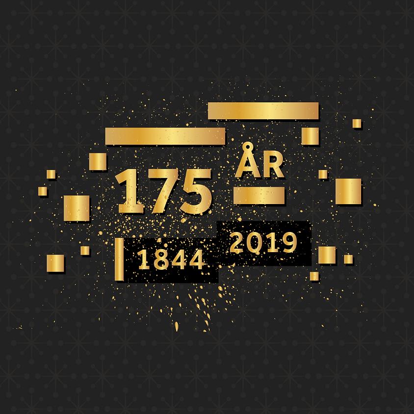 Jubileumsgalla: 175 år