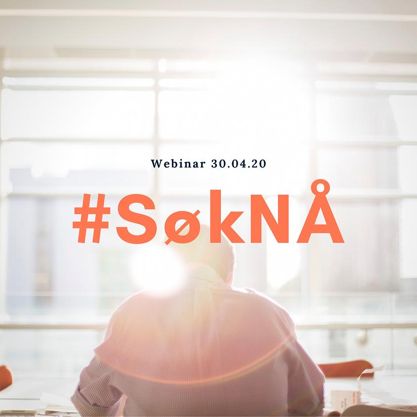 Webinar: #SøkNÅ