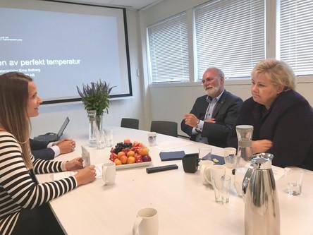 Helårsferge et viktig bidrag i å skape 2000 nye private arbeidsplasser