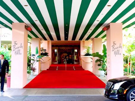 LA:ビバリーヒルズホテルで映画のような朝食を