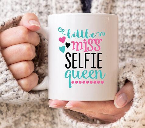 Little Miss Selfie Queen Mug