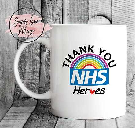 Thank You NHS Heroes Lockdown 2020 Mug