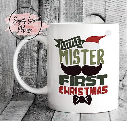 Little Mister First Christmas Mug