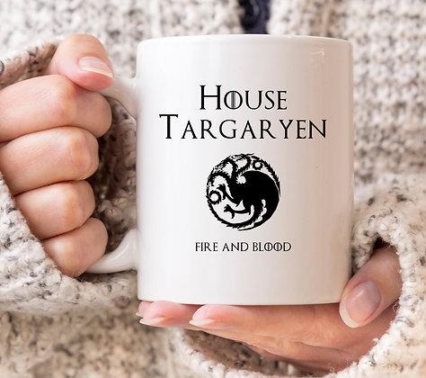 House Targaryen Game of Thrones Mug