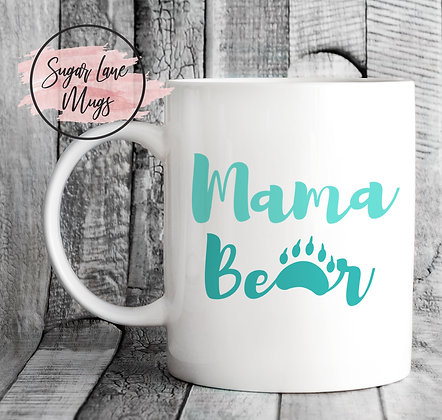 Mama Bear Paw Mothers Day Mug