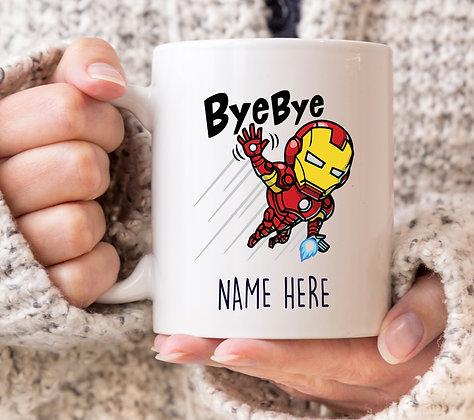 Bye Bye! Ironman Marvel Avengers Superhero Mug