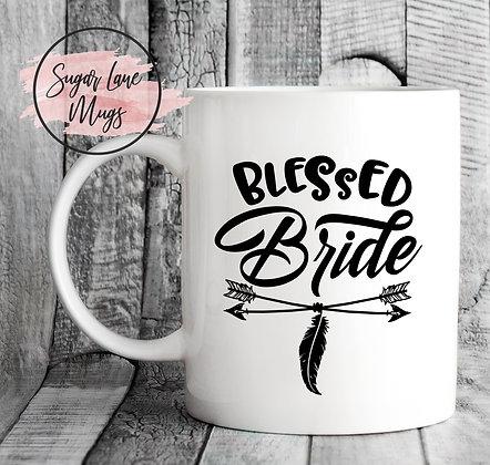 Blessed Bride Wedding Mug