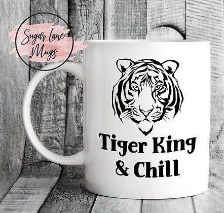 Tiger King and Chill Mug