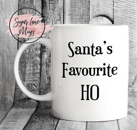 Santa's Favourite Ho ! Mug