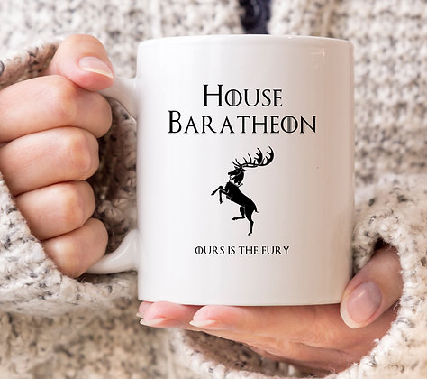 House Baratheon Game of Thrones Mug