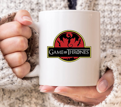 Game of Thrones Jurassic Park Mug