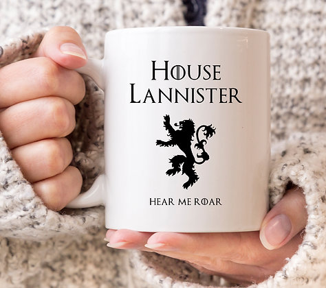 House Lannister Game of Thrones Mug