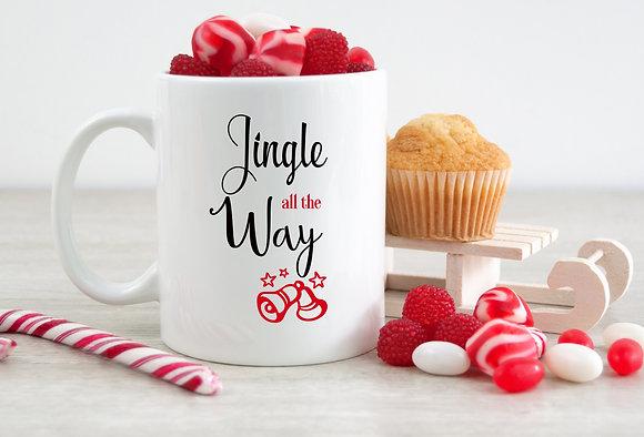 Jingle all the Way Christmas Mug