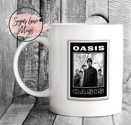 Oasis Poster Mug