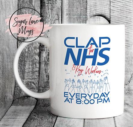 Clap for NHS Lockdown 2020 Mug
