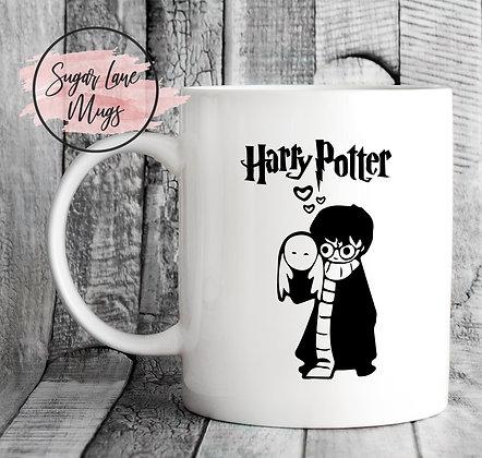 Harry Potter and Owl Mug