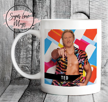 Ted Hastings Line of Duty Love Island Special Mug