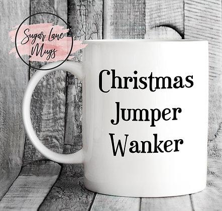 Christmas Jumper Wanker Mug