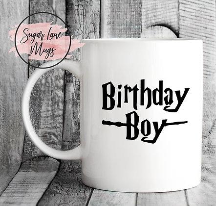 Birthday Boy Harry Potter Mug