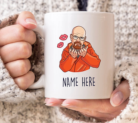 Walter White Heisenberg Kiss Breaking Bad Mug