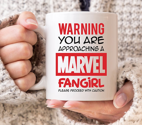 Warning You are Approaching a Marvel Fangirl