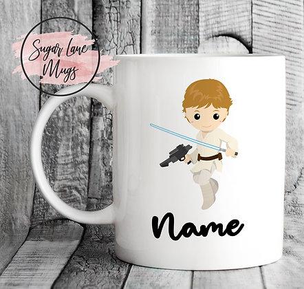 Custom Personalised Star Wars Luke Skywalker Mug