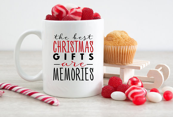 The Best Christmas Gifts are Memories Mug