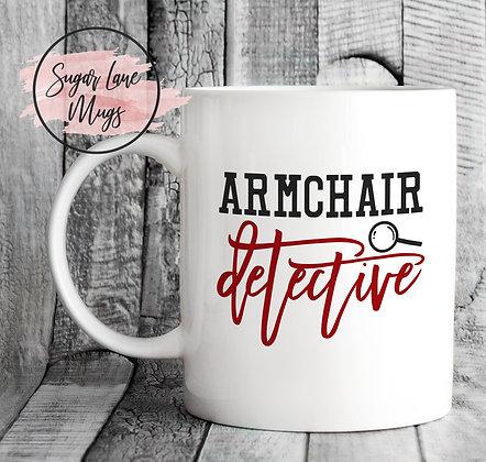 Armchair Detective Mug