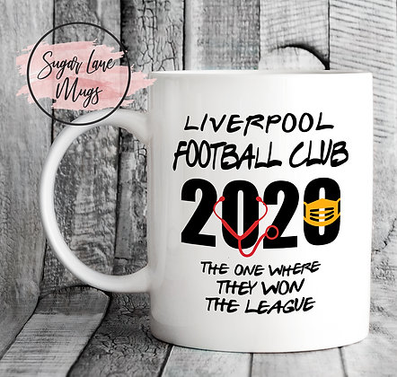 Liverpool Football Club 2020 Won The League Mug