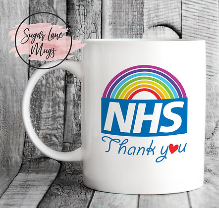 NHS Thank You Lockdown 2020 Mug
