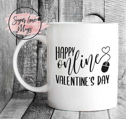 Happy Online Valentine's Day Mug