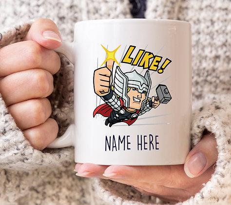 Thor Like! Avengers Marvel Superhero Mug