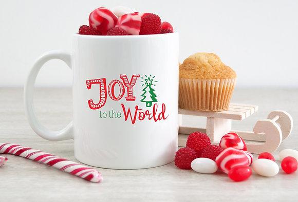 Joy To The World Christmas Mug