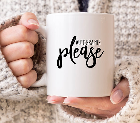 Autograph's Please Mug