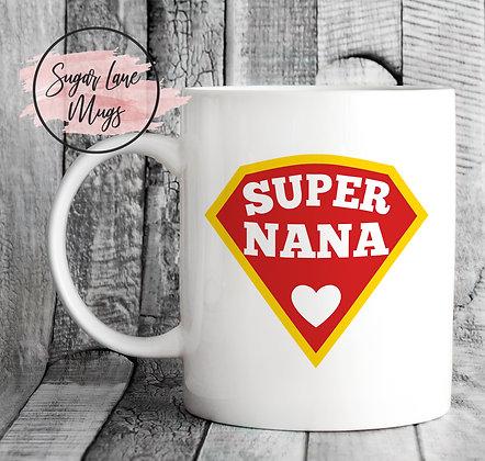 Super Nana Mothers Day Mug