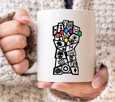 Thanos Hand Marvel Avengers Inspired Mug