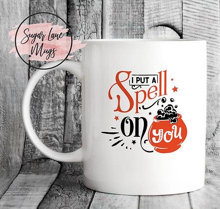 I Put a Spell On You Halloween Mug