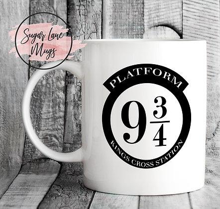 Platform 9 3/4 Harry Potter Mug