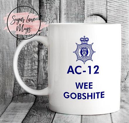 AC-12 Line of Duty Wee Gobshite Mug